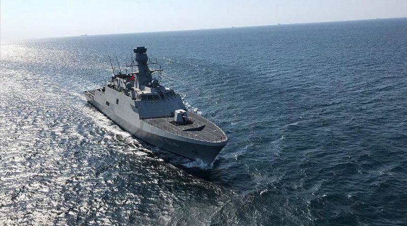 Kapal angkatan laut Turki diluncurkan di Pakistan pada Minggu
