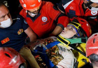 Sejumlah korban gempa Turki berhasil diselamatkan