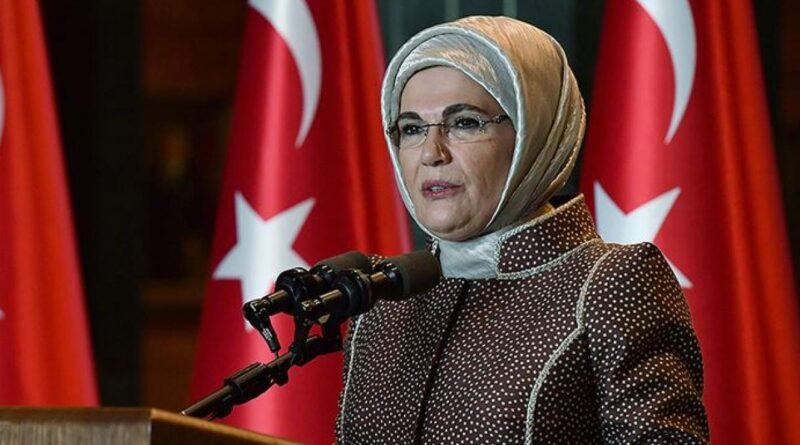 Wanita Pertama Turki Emine Erdoğan Menyambut Baik Hari Kesenian Islam Antarabangsa UNESCO