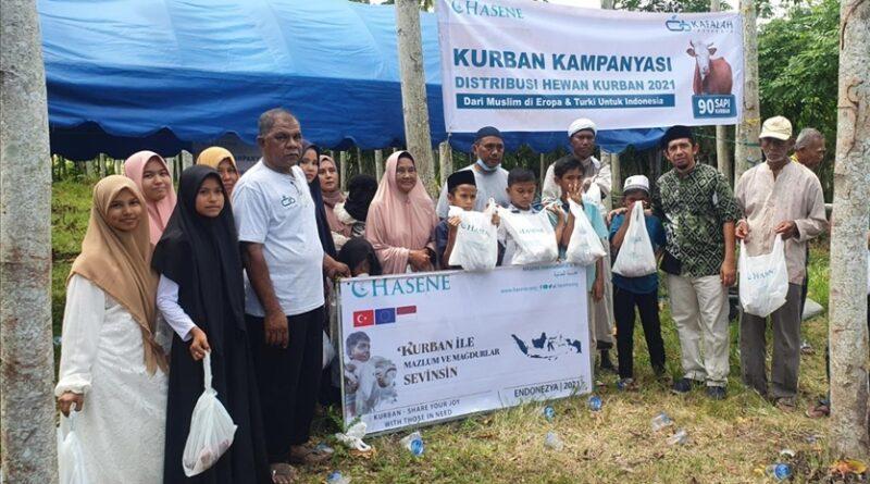 Masyarakat Muslim Eropa-Turki sumbang 90 hewan kurban untuk Aceh
